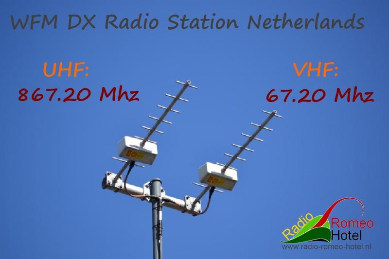 Welkom bij WFM DX radio station Romeo Hotel