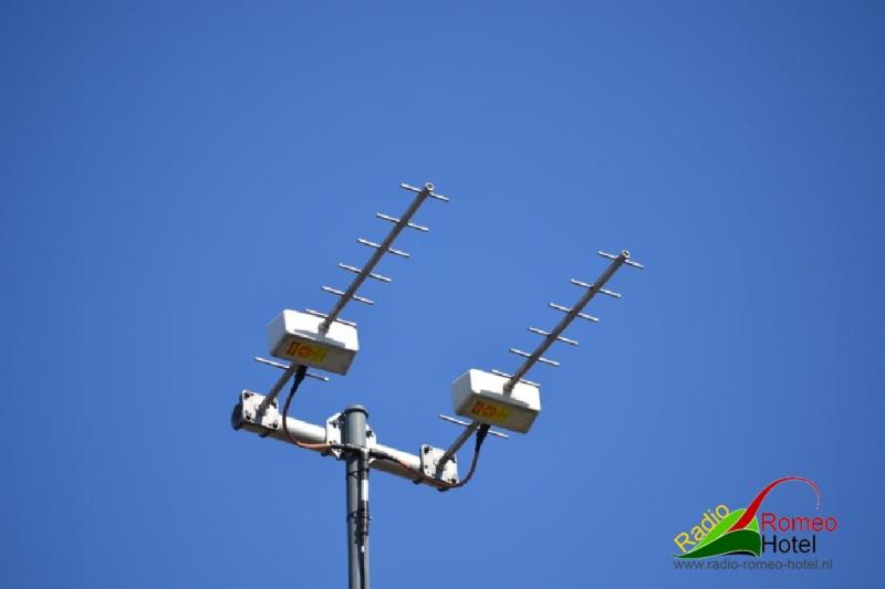 Celwave 35 cm antenne in de lucht