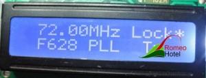 4.5 meter PLL stuurzender met maximaal vermogen van 1 Watt display