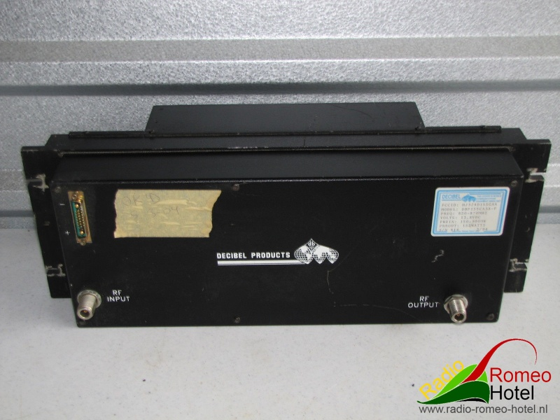 Power amplifier Decibel 155Watt frontside