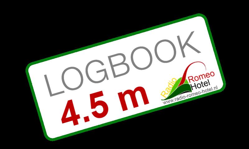 4.5 meter logboek