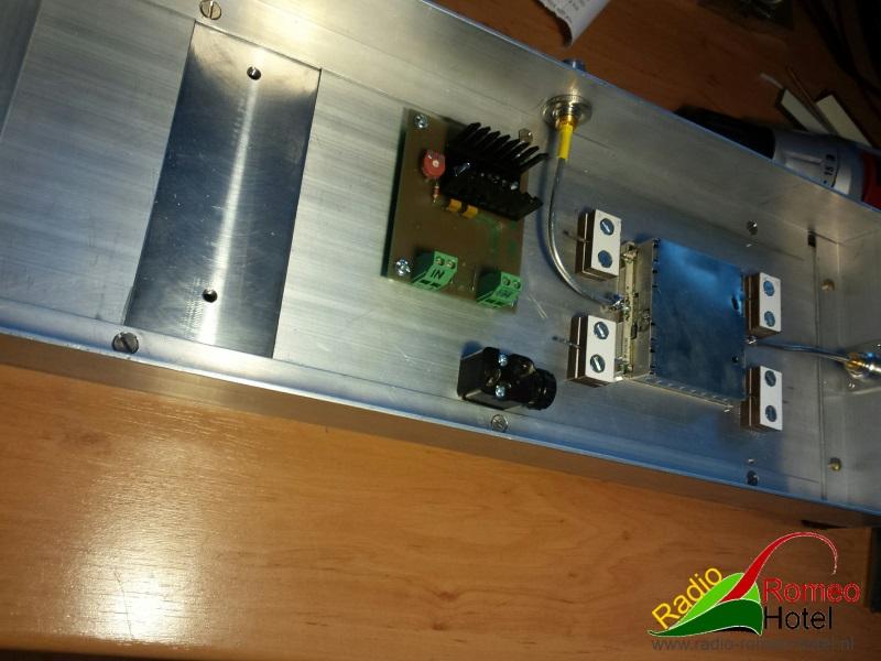 35cm amplifier met 225watt spanningsprintje