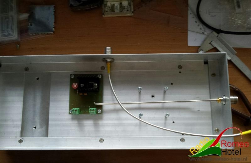 35cm amplifier met 225watt beetje uitleggen, hoe het komt