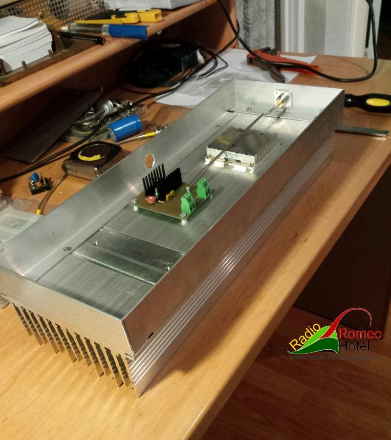35cm amplifier met 225watt zo moet het worden
