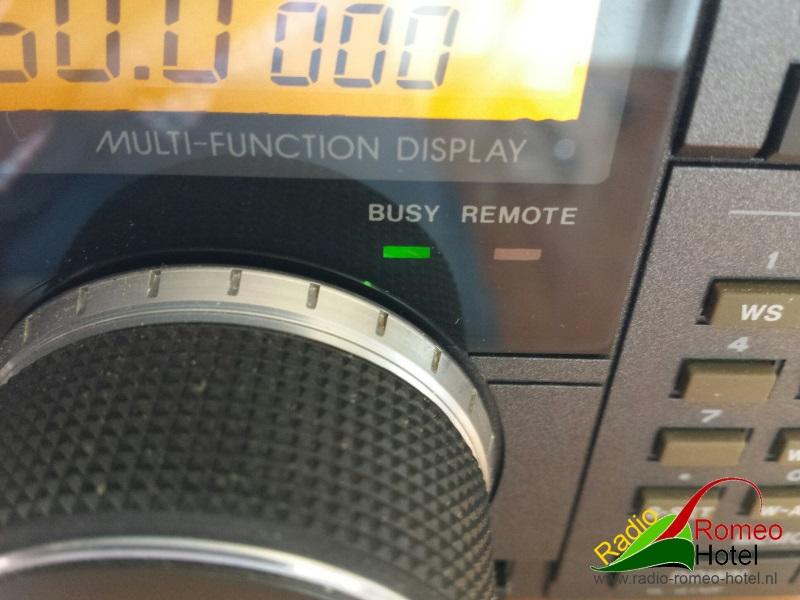 Het resultaat, de R7100 in Mono