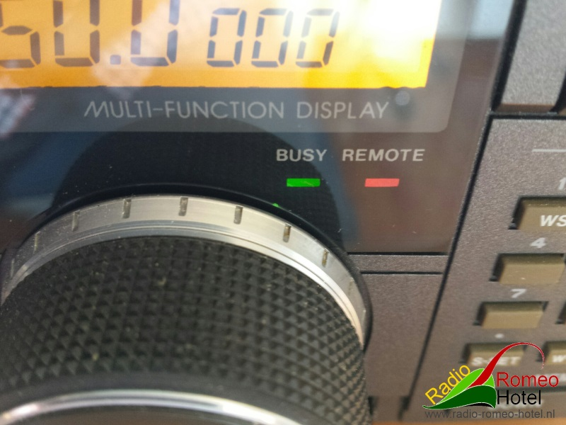 Icom R-7100 in Stereo