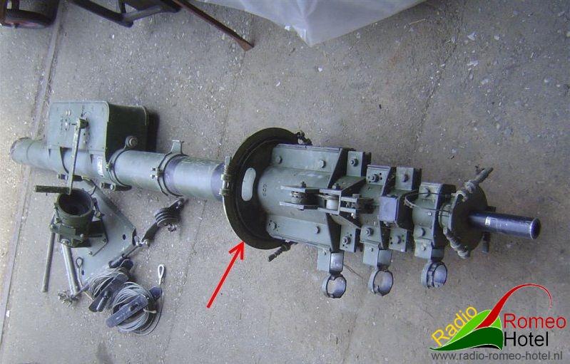 Geroh KMR-100 uitliermast