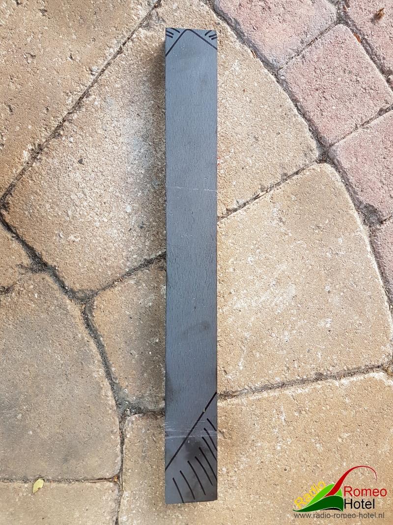 Schoortje van 40x20mm dik staal