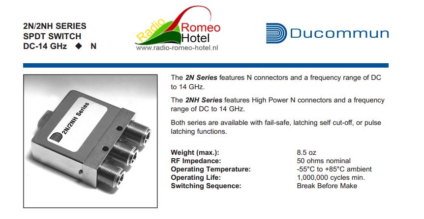 Ducommun 2n2E31 technischegegevens 1