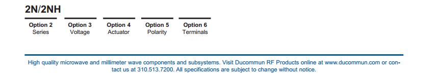 Ducommun 2n2E31 technischegegevens 3