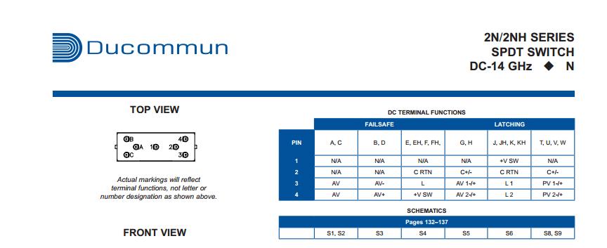 Ducommun 2n2E31 technischegegevens 4