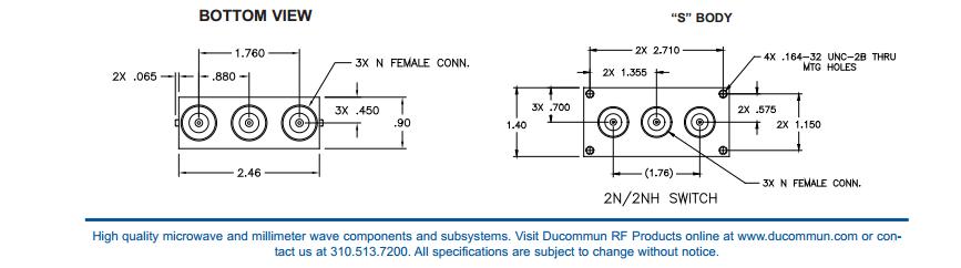 Ducommun 2n2E31 technischegegevens 6