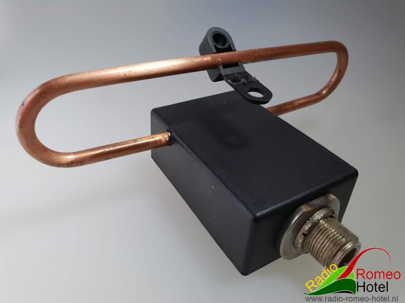 35cm high power dipool voor de 35cm band 500 Watt