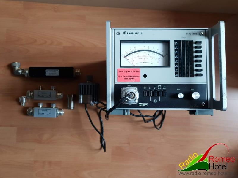 Marconi-tft-6460-rf-powermeter-3KW-compleet